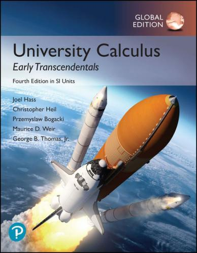 University Calculus-Early Transcendentals in SI Units 4/E