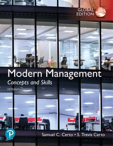 Modern Management Concepts and Skills 15/E