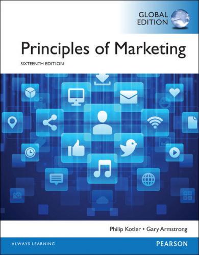 Principles of Marketing 16/E