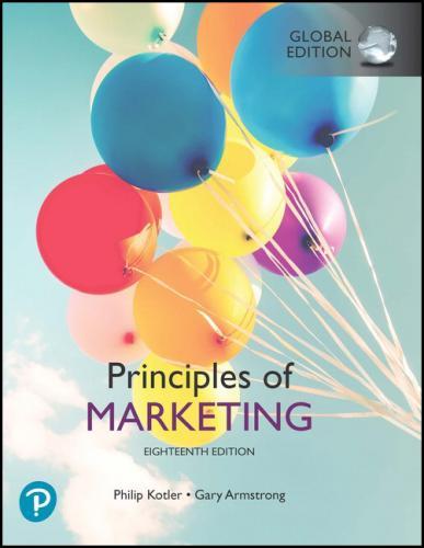 Principles of Marketing 18/E